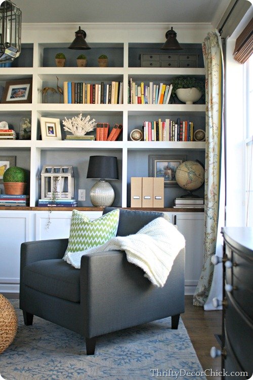 DIY built ins with storage