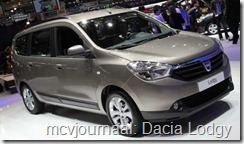 2012 Autosalon Geneve - Dacia Lodgy 03