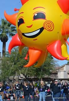 Spirit - the Fiesta Bowl Mascot