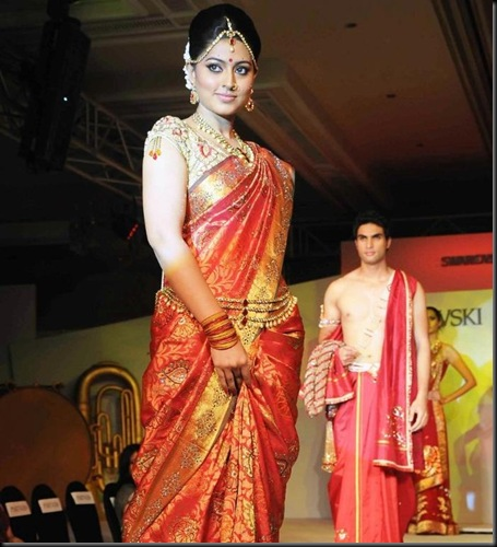 Sneha Ramp Walk @ Swarovski Fashion Show
