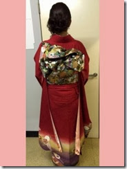 美容室に振袖の出張着付 (3)