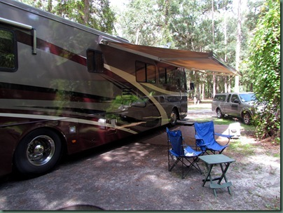campsite 92 at Hillsborough River State Park