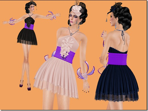 aDiva couture Merveile Crinkle Dress003