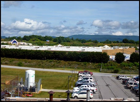 01 - View from Window - Walmart, Lowes, Mountains