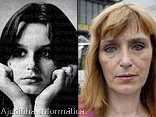 Eu, Christiane F.,13 anos,drogada e prostituída antes depois