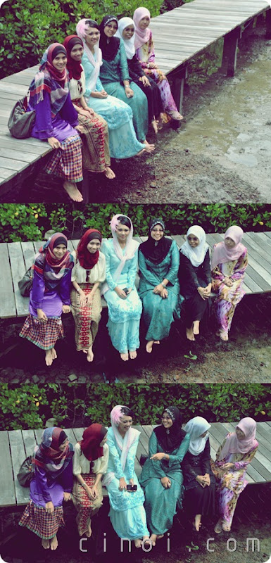 Engagement Day with girlfrens