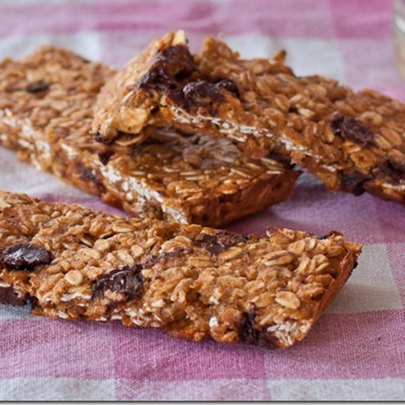 Sweet Potato Chocolate Chip Granola Bars