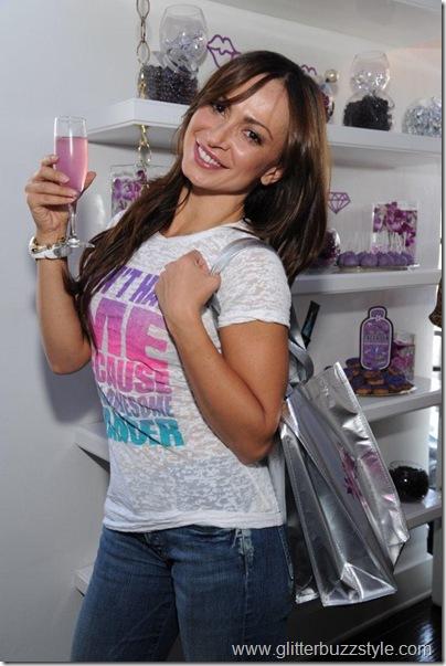 Karina Smirnoff drinking HPNOTIQ