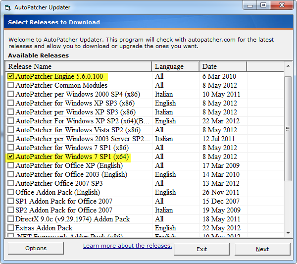 K7 Offline Updater For Windows 8