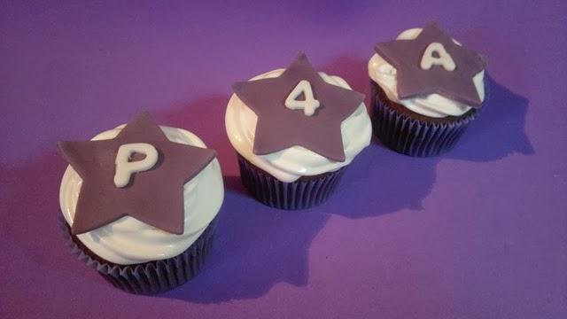 Cupcakes xocolata liles