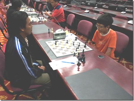 Syaimazar vs Yeoh Li Tian, Round 2, UPSI Open 2012