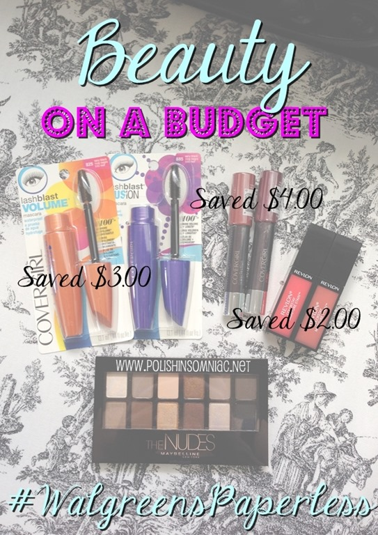 Beauty on a Budget with #WalgreensPaperless Coupons #CollectiveBias #shop