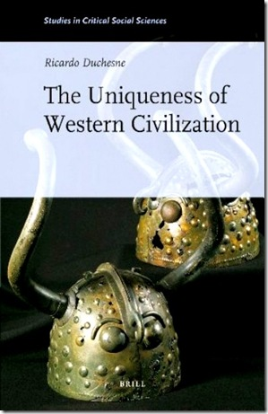 The Uniqueness of Western Civilization Bk Jk