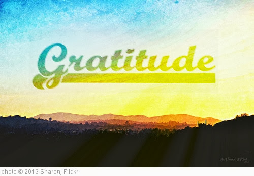 'Gratitude' photo (c) 2013, Sharon - license: http://creativecommons.org/licenses/by-nd/2.0/