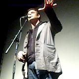 """Бас Бётхерт (Bas Böttcher)- один из самых известных рэп и слэм поэтов Германии. Создатель """"lyrics boxes"""" и """"Text Box""""."""