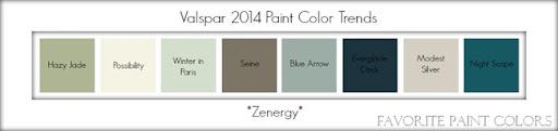Valspar 2014 Paint Color Trends   Zenergy. U201c