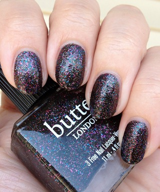 butter LONDON The Black Knight 2