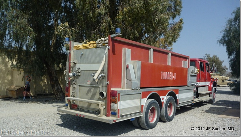 FOB Salerno Fire Truck