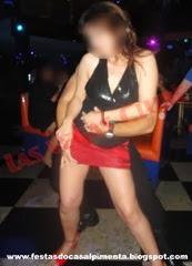 Sra Sexydreams sensualizando na pista