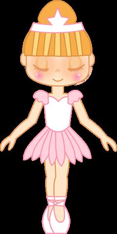 clipar imagem decoupage figura bailarina (3)