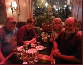 20140313_193046 Steve, Carol, Dianne, Tom