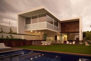 Fachada Casa FF Hernandez Silva Arquitectos