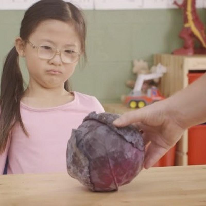 Niños no conocen  el nombre de los vegetales