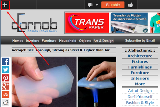 Veja apenas o que mais lhe agrada na internet -StumbleUpon - Visual Dicas