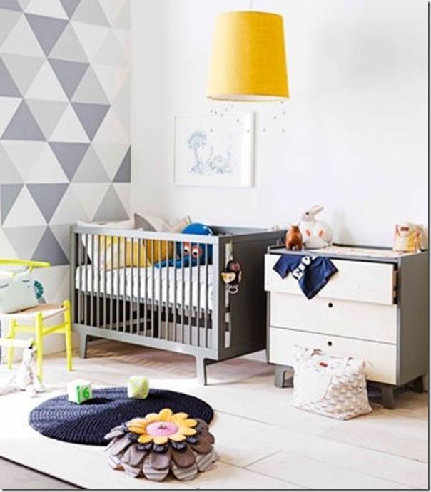 case e interni - tendenza decorazione  triangoli - Triangles 8