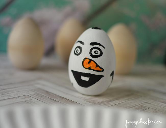 DIY Frozen Easter Eggs