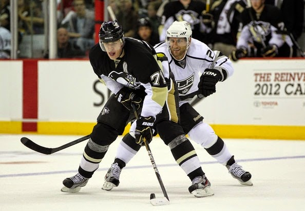 Jarret Stoll Los Angeles Kings v Pittsburgh etAACjfqOi2l