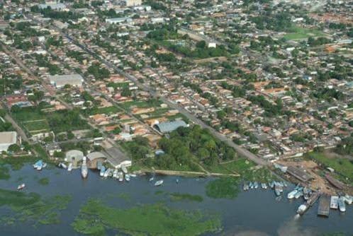 Vista aerea del Lago do Mapiri, Santarém - Parà, Foto: Ronaldo Ferreira