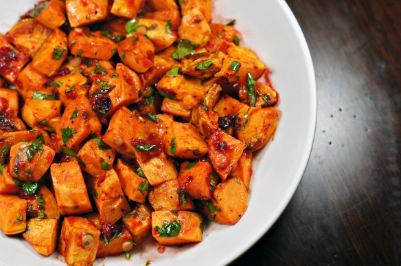 Sweet potato salad 2