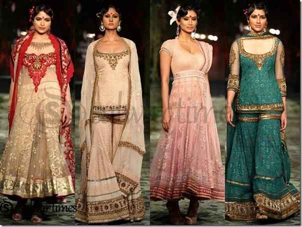 "Designer "" Tarun Tahiliani "" Collection at "" Aamby Valley India"