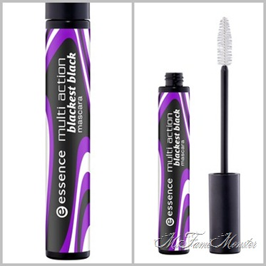 Multiaction Mascara - 01 blackest black fertig