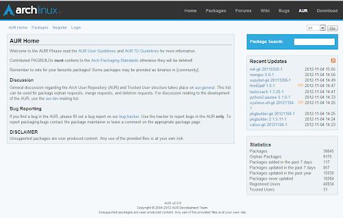Arch Linux - AUR si rifà il look