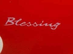 Blessing signature