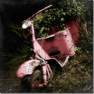 PinkScooterTextured