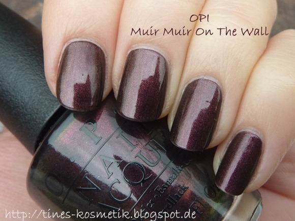 OPI Muir Muir On The Wall 4