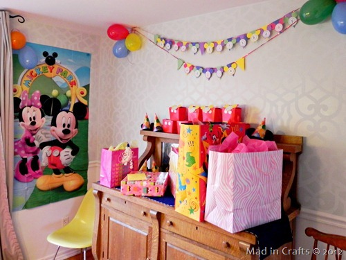 mickey party decorations