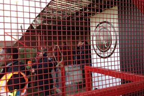 Tyledsley in the cage.JPG