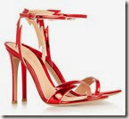 Gianvinto Rossi Red Patent Leather Sandals