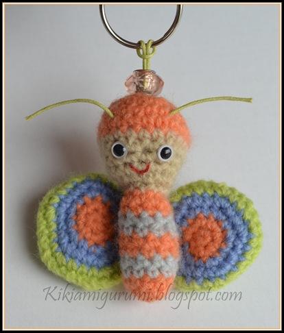 Llaveros crochet patrones - Imagui