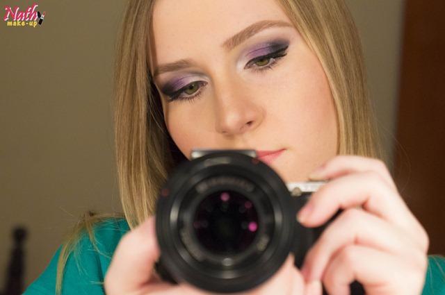 câmera maquiagem