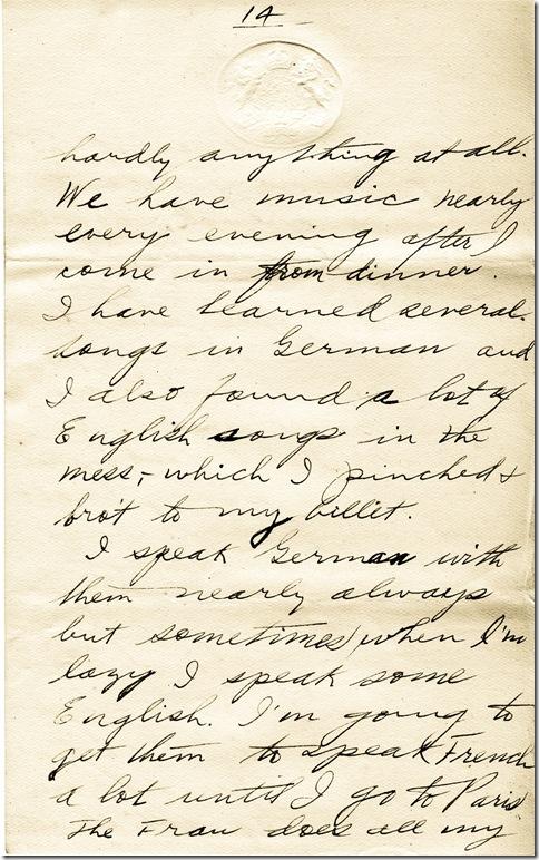 14 July 1919 14