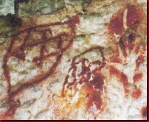 Lukisan Misteri tangan pertama di Sulawesi Selatan