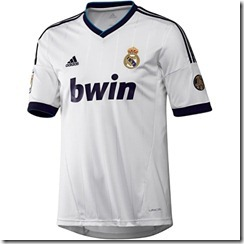 Camiseta Real Madrid 2012-2013