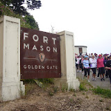 Start & End is again Fort Mason