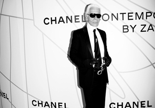 Karl Lagerfeld==<br />Opening Party for MOBILE ART: CHANEL Contemporary Art Container in Central Park==<br />Rumsey Playfield, Central Park, NYC==<br />October 21, 2008==<br />© Patrick McMullan==<br />Photo - BILLY FARRELL/PatrickMcMullan.com==<br />==