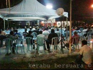 2000 Orang Hadiri Ceramah Umno Di Jalan Kebun Shah Alam Semalam